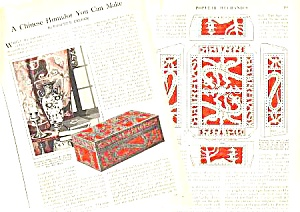 1927 CHINESE HUMIDOR To Build Magazine Article (Image1)