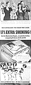 1941 BLACKSTONE Cigar/Dancing Girl Ad (Image1)