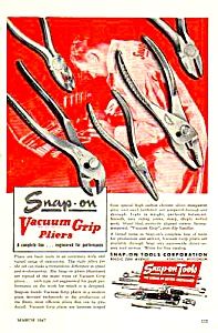 1947 SNAP-ON TOOL Ad (Image1)