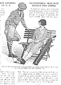 1926 GOLF Removable Cleats Magazine Article (Image1)