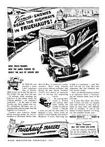 1946 FRUEHAUF TRUCK TRAILERS Ad (Image1)