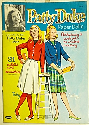 1964 Original Patty Duke Paper Dolls
