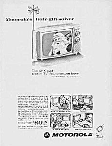 1966 SANTA CLAUS Theme Motorola TV Ad (Image1)
