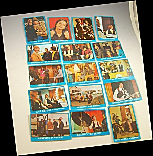 1971 Partridge Family 16 Blue Collector Cards Lot