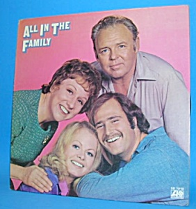 Archie Bunker-ALL IN THE FAMILY LP Album 1971 (Image1)