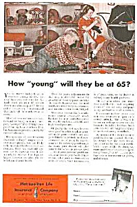 1953 Toy Train Image Toy Mag. Ad