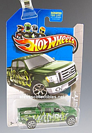 2009 Ford F-150 Pickup Truck Hot Wheels Toy Moc