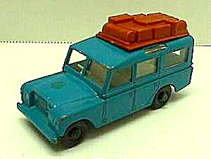 Lesney Matchbox 1965 Land Rover Safari No 12