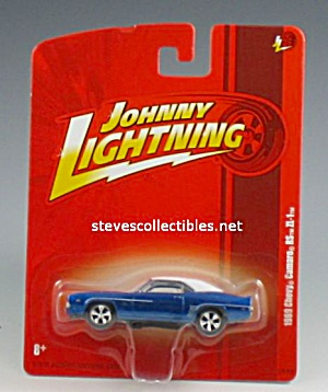 1969 Chevy Camaro Rs Zl-1 Johnny Lightning Diecast Toy