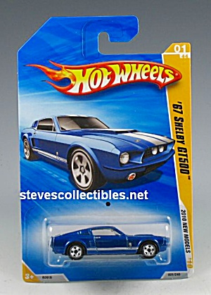 1967 Shelby Gt-500 Hot Wheels Toy Moc