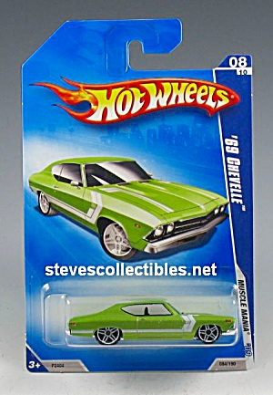 1969 Chevy Chevelle Ss 396 Hot Wheels Toy Moc