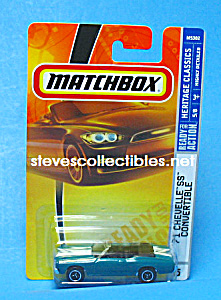 1971 Chevy Chevelle Ss Convertible Matchbox Toy Moc