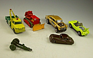 Lesney Matchbox Hotwheels 1960s Wrecker+cobra+gasser