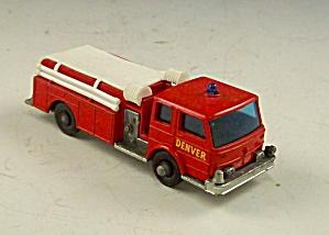 Lesney Matchbox DENVER FIRE TRUCK No. 29 (Image1)