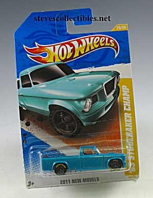 1963 STUDEBAKER PICKUP TRUCK. Hot Wheels Toy  MOC (Image1)