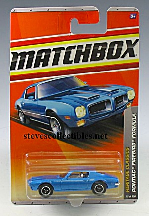 1970s PONTIAC FIREBIRD FORMULA 400 Matchbox Toy  MOC (Image1)