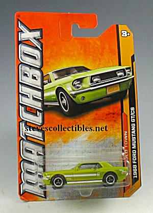 1968 FORD MUSTANG GT/CS Matchbox Toy  MOC (Image1)