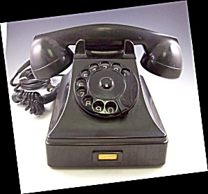 1960? Bakelite Standard Ptt Desk Telephone Phone