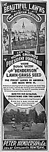 1902 PAN AMERICAN Exposition LAWNS Ad (Image1)