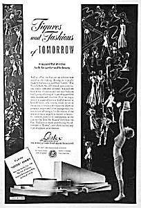 1939 NY WORLDS FAIR Ad - Lastex - Nude (Image1)