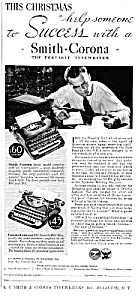 1933 Smith-corona Typewriter Magazine Ad