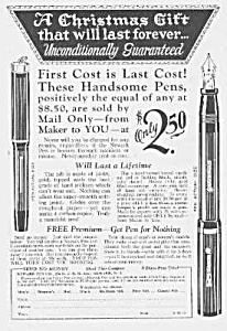 1926 Newark FOUNTAIN PEN Ad (Image1)