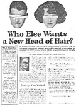 Click here to enlarge image and see more about item 24MERKE: 1924 Hair Restorer That REALLY Works QUACK Ad