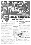 Click here to enlarge image and see more about item 27AVIAT1: 1927 American Aviation School LEARN TO FLY Ad