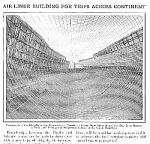 1927 Dirigible AIRSHIP Framework Mag. Article