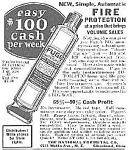 Click here to enlarge image and see more about item 27FORM: Cool 1927 FUGO Fire Extinguisher Mag. Ad