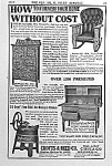 Click here to enlarge image and see more about item AD0105AA2: 1910 HOOSIER/Washing Machine Ad