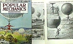 Click here to enlarge image and see more about item AD0216AA9: 1927 Early BALLOONING Magazine Article