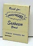 Click here to enlarge image and see more about item AD0216BB3: 1950s SUNBEAM BREAD Adv. Sewing Kit