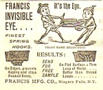 1895 Sewing Ad FEATURING BROWNIES - Cute!!