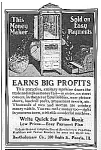 Click here to enlarge image and see more about item AD0316BB3: 1918 BARTHOLOMEW Popcorn-Peanut Vending Ad