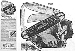 Click here to enlarge image and see more about item AD0316BB7: 1928 REMINGTON Pocket Knife Ad