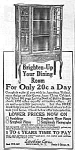 Click here to enlarge image and see more about item AD0323AA2: 1922 LARKIN CHINA CABINET/Furniture Ad