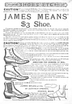Great 1886 BUTTON TOP Shoe Mag. Ad