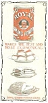 Click here to enlarge image and see more about item AD0422AA3: 1905 ROYAL BAKING POWDER Kitchen Mag. Ad