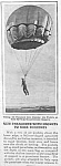 Click here to enlarge image and see more about item AD0522A1: 1927 PARACHUTE - SKYDIVING Mag. Article