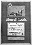 Click here to enlarge image and see more about item AD0527C6: 1918 STARRETT TOOL Ad L@@K!