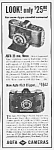 Click here to enlarge image and see more about item AD0529AA1: 1939 AGFA CAMERAS Magazine Ad