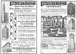Click here to enlarge image and see more about item AD0610M: 1925 Evans PATENT ATTORNEYS Magazine Ad