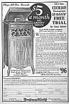 Click here to enlarge image and see more about item AD0620D7: 1920 MONTGOMERY WARD Phonograph Mag. Ad