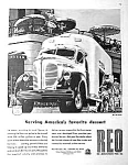 Click here to enlarge image and see more about item AD0708H7: 1945 REO TRUCK Magazine Ad