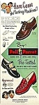 Click here to enlarge image and see more about item AD0713A9: Color 1949 POLL PARROT SHOES Mag. Ad
