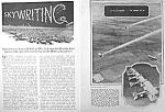 1925 SKYWRITING Aviation Mag. Article