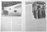 Click here to enlarge image and see more about item AD0814D6: Great 1927 US BLIMPS Mag. Article