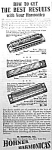 Click here to enlarge image and see more about item AD0825A5: 1936 HOHNER HARMONICA Magazine Ad