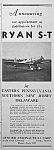 Click here to enlarge image and see more about item AD1004A5: 1937 RYAN S-T Aircraft/Demorr Aero Ad